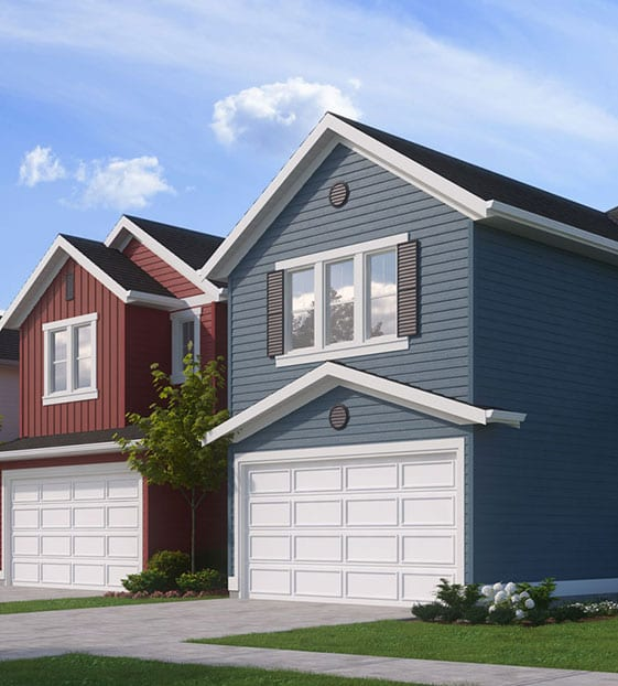 Classic Single Family Homes with Attached Garage