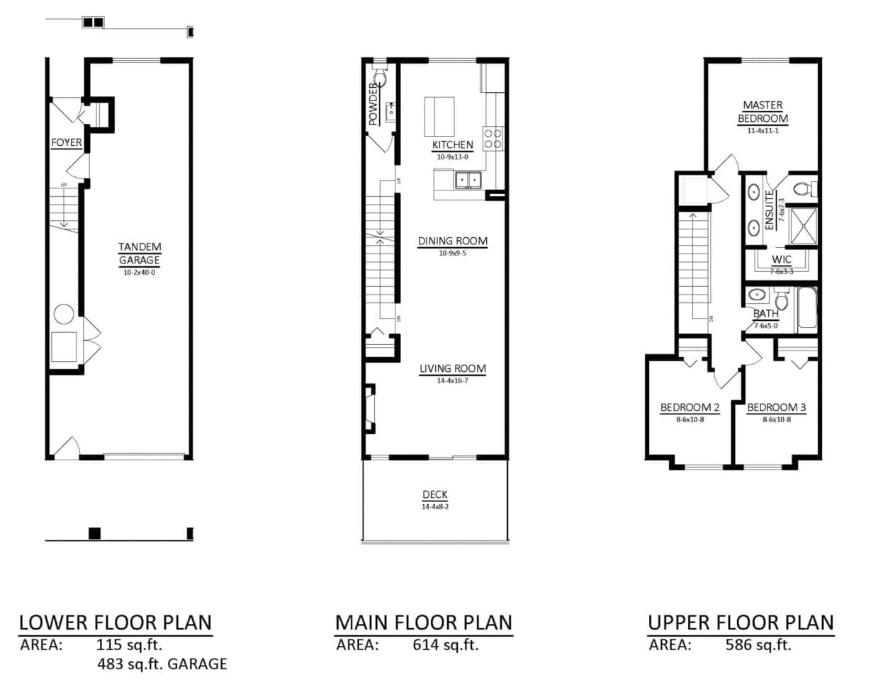 736Townhome - D-FLOORPLAN