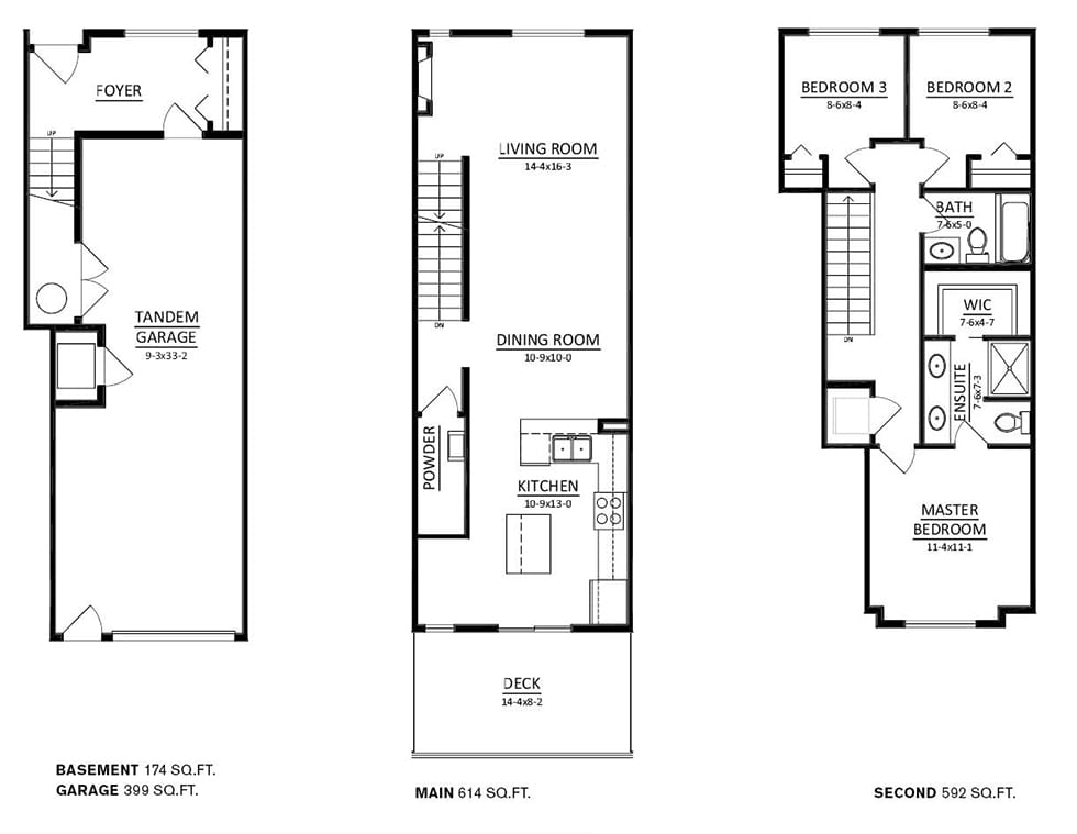 Copperstone_townhome_floorplanB