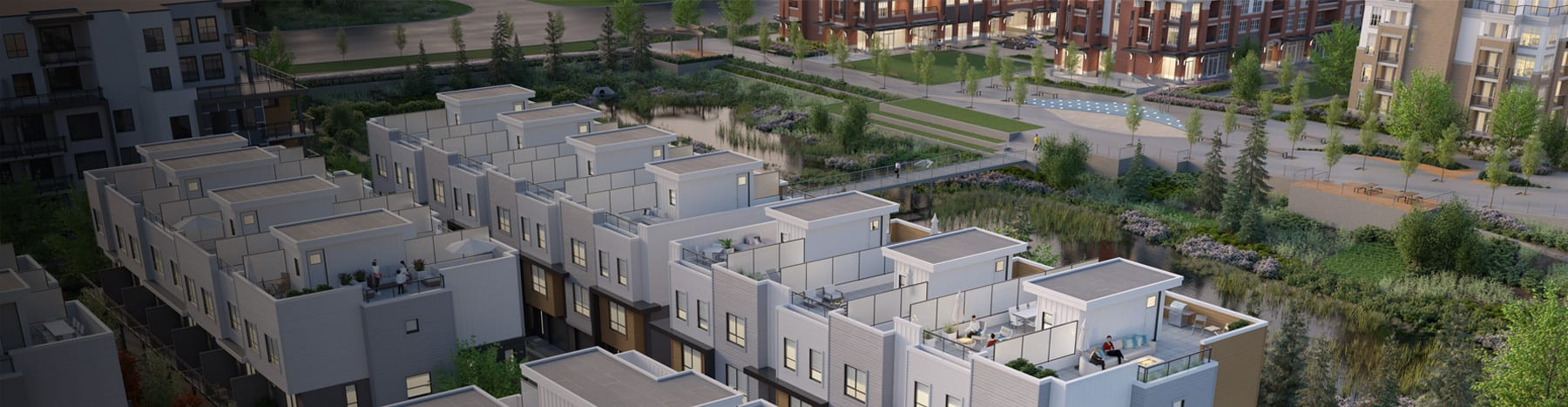 Limited Collection of Rooftop Patio Townhomes<br /> Now Selling