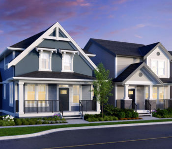 Single Family Lane Homes