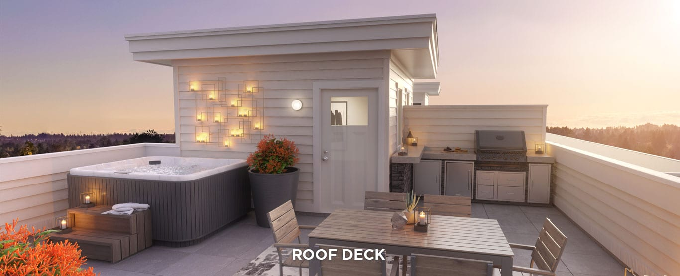 Rooftop & Parkside Townhomes