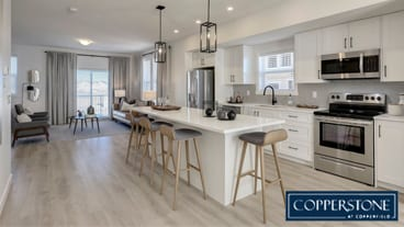 SmithErickson Designs' Stylish Calgary Townhomes At Copperstone