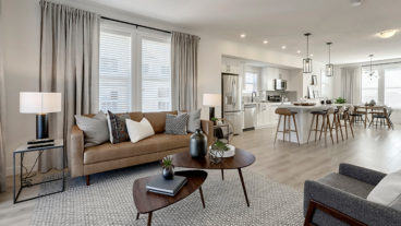 New Townhome Showhomes in Copperstone