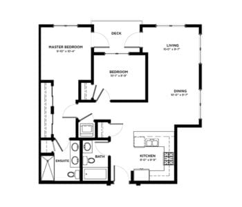 2 Bedroom Condos Building A & B
