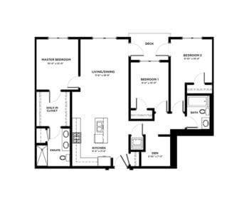 3 Bedroom Condos Building A & B