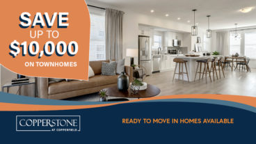 SAVE UP TO $10,000 ON TOWNHOMES