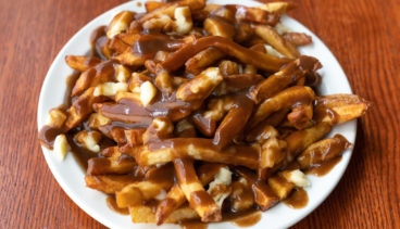 Best poutine near Latimer Heights