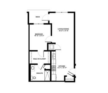 1 Bedroom Condos Building C