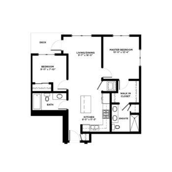 2 Bedroom Condos Building C