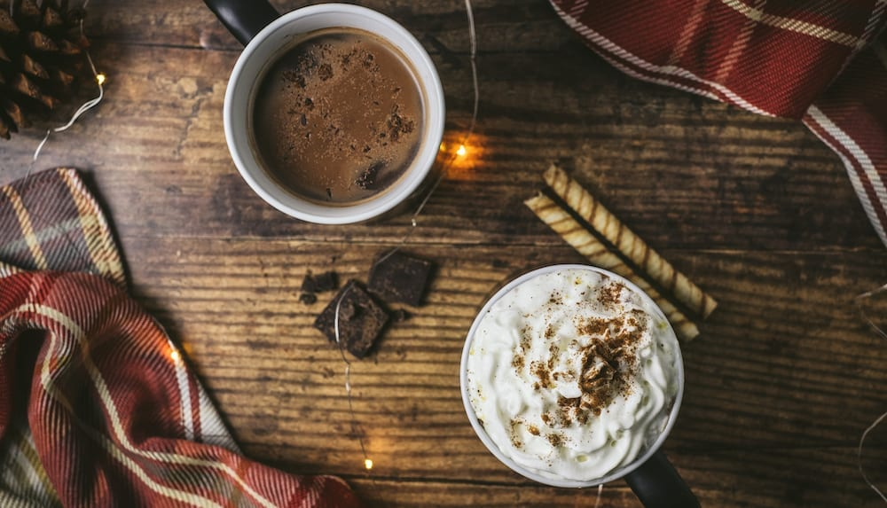 Where to find the best hot chocolate near Latimer Heights in Langley