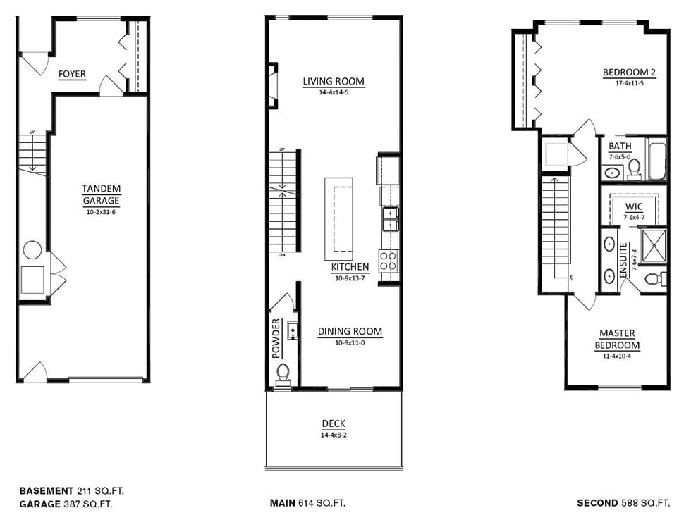 Copperstone_townhome_floorplanC2