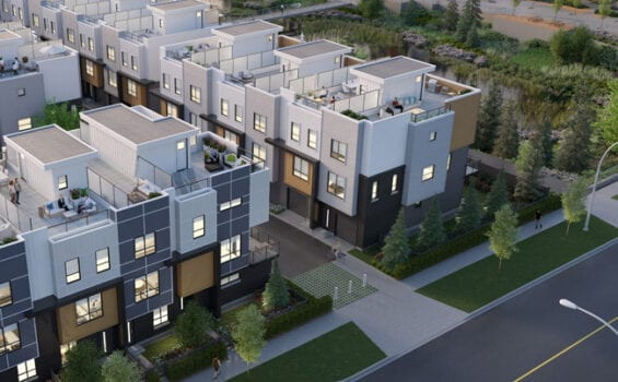 Rooftop Patio Townhomes