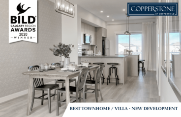 Best Townhome of 2020 BILD Award Winner is Copperstone!